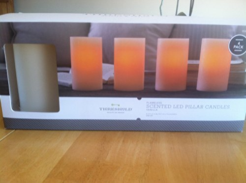 Flameless Scented Led Pillar Candles