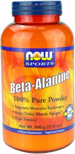 NOW Foods Beta Alanine Powder  500G