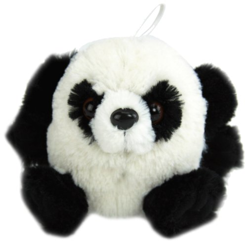 Purr-Fection Patches Cushy Critter Panda Bear Plush