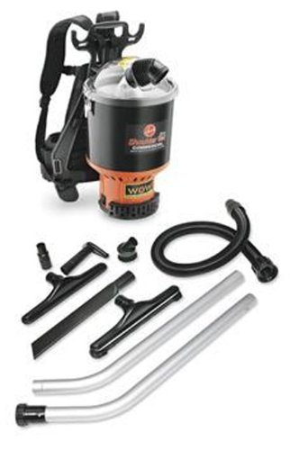 Hoover C2401 Shoulder Vac Pro Commercial Back Pack Vacuum with 1-1/2-Inch Attachment Kit