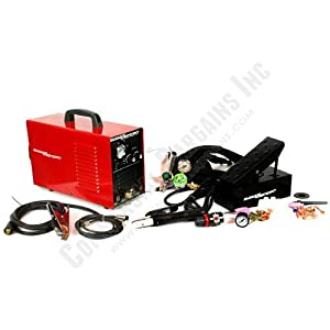 3-in-1 Welder Plasma Cutter Tig Mma Cut Stick Arc 110v 220v 520tsc With Pedal by Tosense