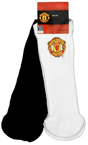 hommes-officiel-manchester-united-mufc-pack-2-paires-coton-chaussettes-taille-6-a-11-blanc-40-45