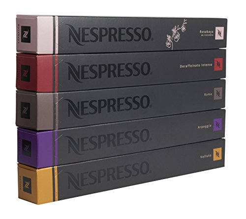 50 originalline nespresso capsules coffee decaf pack ebay. Black Bedroom Furniture Sets. Home Design Ideas