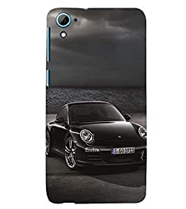 D KAUR Racing Car Lovers Back Case Cover for HTC Desire 826