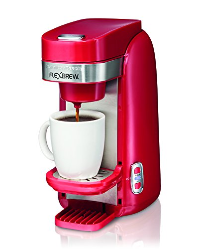 Hamilton Beach Single-Serve Coffee Maker, FlexBrew - Red (49960)