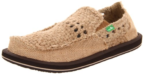 Sanuk Women's Tie One Slip-On,Brown,8 M US