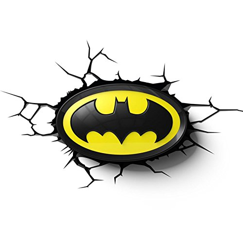 Batman Logo 3D LED Wall Light