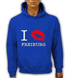Artdiktat Hoodie I kiss Freiburg