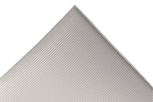 """NoTrax 413 Blade Runner Safety/Anti-Fatigue Mat with Dyna-Shield PVC Sponge, 3' Width x 4' Length x 1/2"""" Thickness, Gray at Sears.com"""