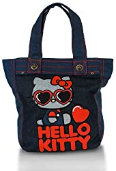 Hello Kitty Red Heart Glasses Tote [Apparel]