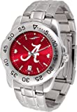 Alabama Crimson Tide Stainless Steel Men's Sport Watch at Amazon.com