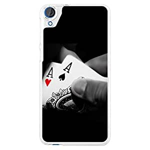 a AND b Designer Printed Mobile Back Cover / Back Case For HTC Desire 826 (HTC_826_2603)