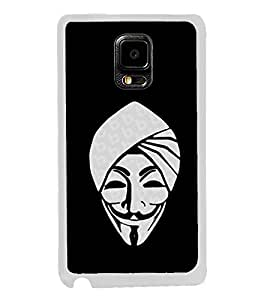 Smiling Cartoon 2D Hard Polycarbonate Designer Back Case Cover for Samsung Galaxy Note Edge :: Samsung Galaxy Note Edge N915FY N915A N915T N915K/N915L/N915S N915G N915D