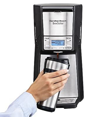 Hamilton Beach 48465 Brewstation Summit Ultra 12-Cup Programmable Coffeemaker by Hamilton Beach