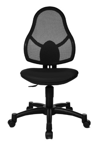 Topstar 71430S10E Open Art Junior Growing Kids and Youths Swivel Chair - Black
