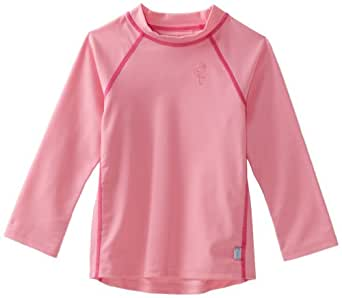 i play Little Girls' Rashguard (Toddler) - Light Pink - 3T