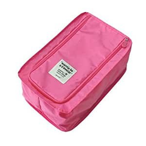 wrapables storage organizer shoe bag pink ca
