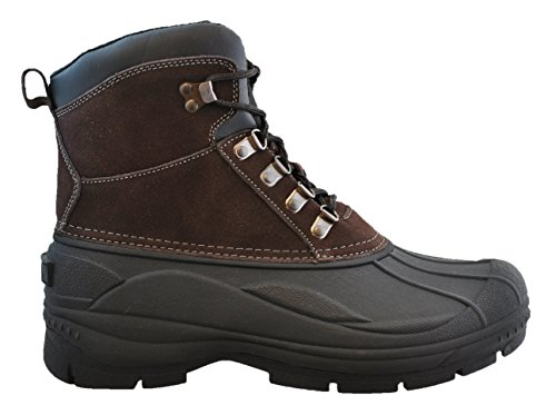 totes mens tornado suede lace up snow boot reviews shoes