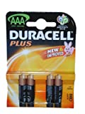 DURACELL PLUS MN2400 K4 AAA (Pack of 4) (U-G2500)
