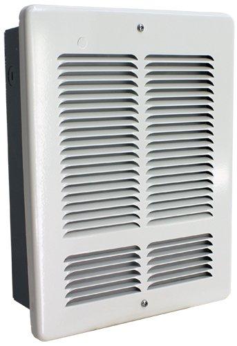 King W2410 1000-Watt 240-Volt Wall Heater, White