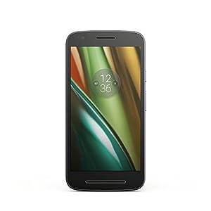Lenovo Moto E3 Smartphone débloqué 4G (Ecran : 5 pouces - 8 Go - Simple SIM - Android 6.0 Marshmallow) Noir