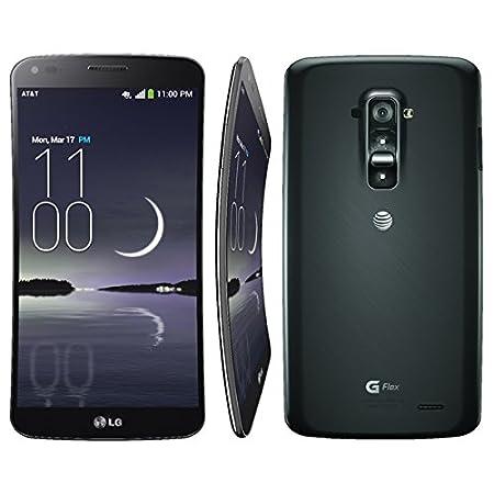 "GD955 LG G Flex 32GB Smartphone caméra 13 mégapixels, écran incurvé 6 ""polarisé, Android 4.2.2 Jelly Bean) Titane / Argent"