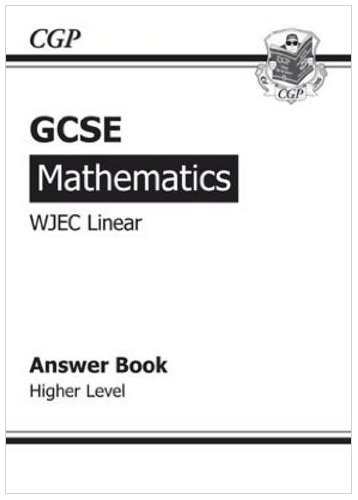 GCSE Maths WJEC Answers for Workbook (with Online Edition) -