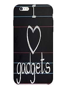 Bagsfull Designer Printed Matte Hard Back Cover Case For Apple Iphone 6 plus 6+