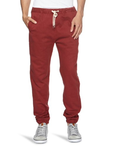 Soulland Bomholt Relaxed Men's Trousers Red W36 INXL32 IN