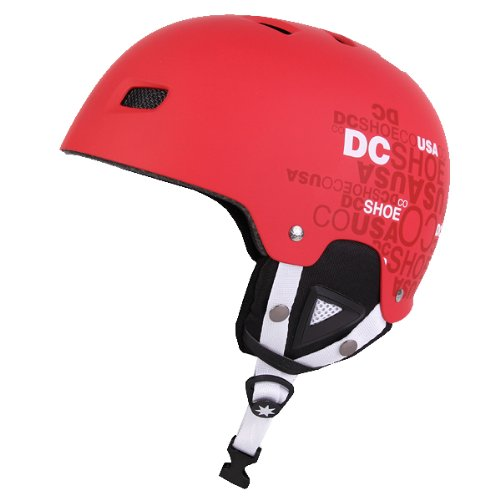 DC Unleashed 14 Snowboard Skate Ski Helmet Chinese Red 58cm