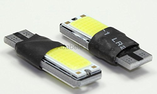 2X T10 Samsung Cob Led White Super Bright Car Light Bulb 194 168 2825 W5W L48 @ 147, 152, 158, 159, 161, 168, 184, 192, 193, 194 2859 Compare To Sylvania Osram Phillips