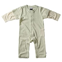Babysoy Layered One Piece , Tea 6-12 Months