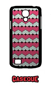 Caseque Pin Heart Back Shell Case Cover for Samsung Galaxy S4 Mini
