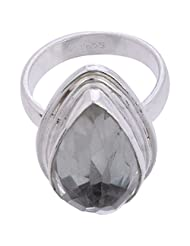 925SilverCollection Silver Plated Amethyst Stone Designer Ring Size 7.5 - B00Q2SX9RA