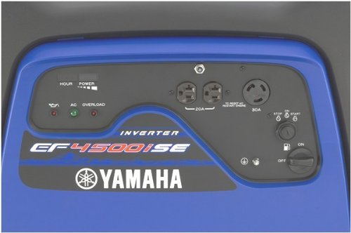 Yamaha-ef6300isde-control-panel