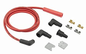 ACCEL 170500R 8.8 mm Universal Stainless Steel Core Coil Lead Kit