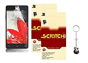 Scratch Pruff Matte Screen Guard For LG G3 stylus Pack of 2