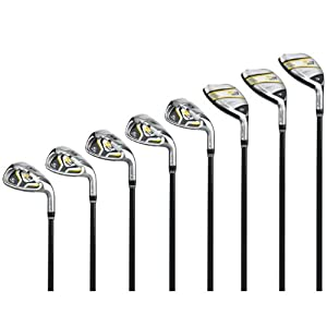 Cobra Mens S3 Max Hybrid Iron Set by Cobra Golf