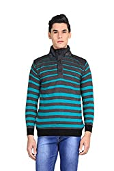 Bravezi Full Sleeve Woollen High-neck Sweaters