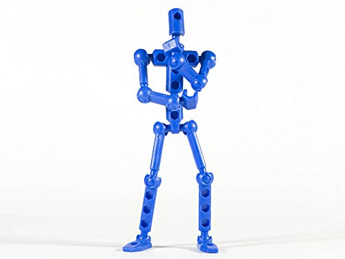 ModiBot Mo Action Figure Kit - Blue
