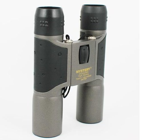 Mystery 12X30 (65X42) Binoculars With Carrying Pouch