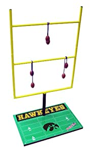Amazon.com : NCAA Iowa Hawkeyes Goal Post Toss Game II : Ladder Ball