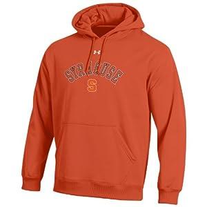 NCAA Syracuse Orange Mens Performance Fleece Hood by Under Armour