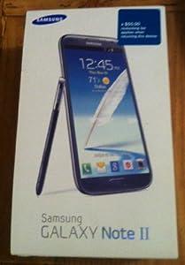 Samsung Galaxy Note 2 N7100 Factory Unlocked International Version - Titanium Silver/Gray