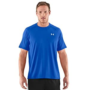 Under Armour Men's UA TechTM Short Sleeve T-Shirt Extra Large Moon Shadow
