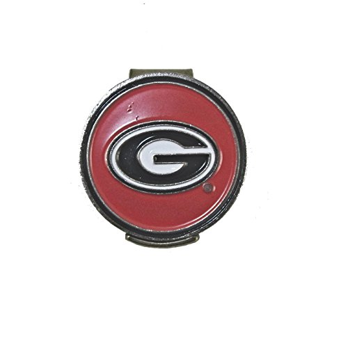 Georgia Bulldogs Hat Clip with Golf Ball Marker (Ga Bulldogs Belt compare prices)