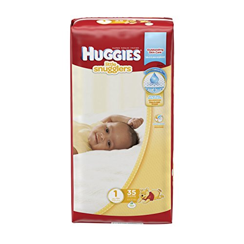 Huggies Little Snugglers Diapers - Size 1 - 35 ct - 1
