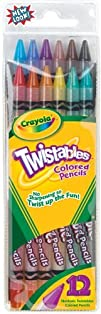 Crayola Twistable Colored Pencils, 12…