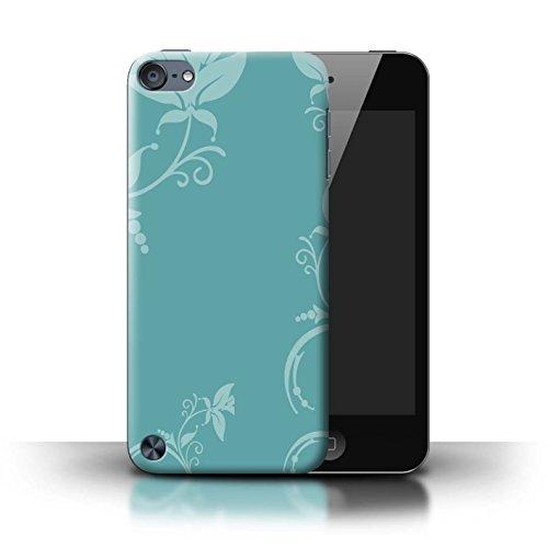 coque-de-stuff4-coque-pour-apple-ipod-touch-5-teal-floral-design-mode-hivernale-collection