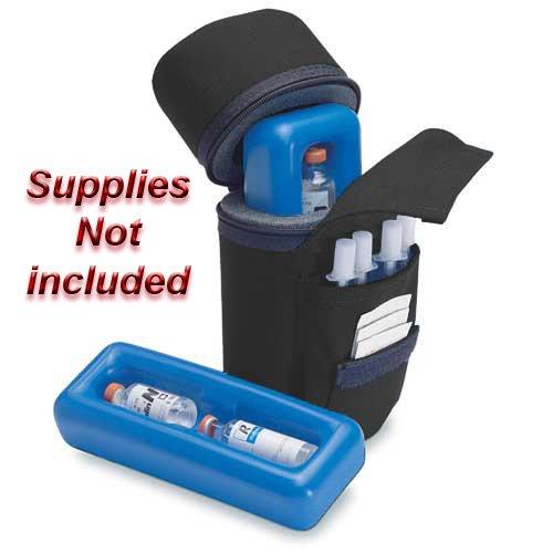 Medicool Insulin Protector Diabetic Insulin Carry Case Color Black (Diabetic Insulin Cooler compare prices)